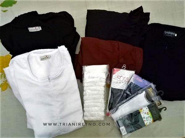 Pakaian dan perlengkapan untuk umroh