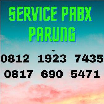 jasa setting pabx parung