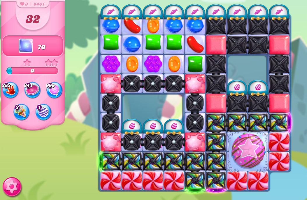 Candy Crush Saga level 8461