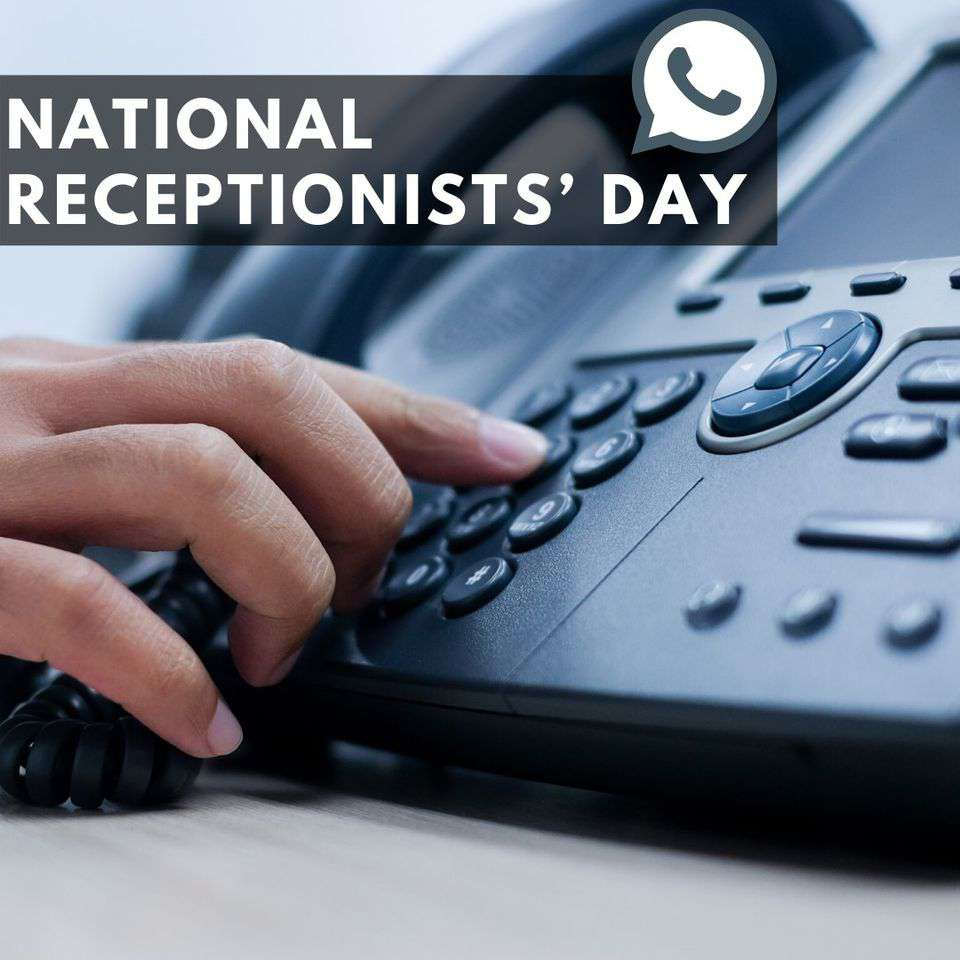 National Receptionists Day Wishes for Instagram