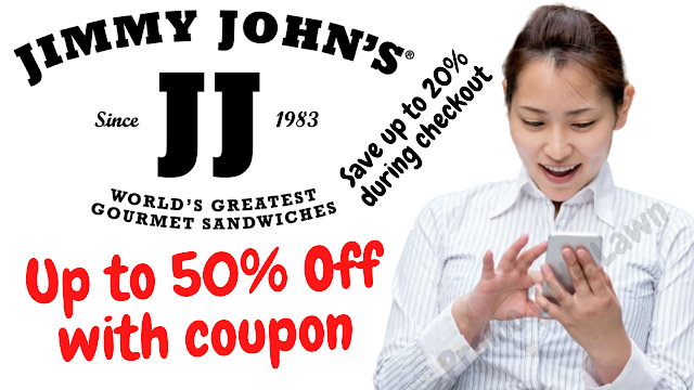 Jimmy Johns Coupon - 50% Off w/2022 Promo Code