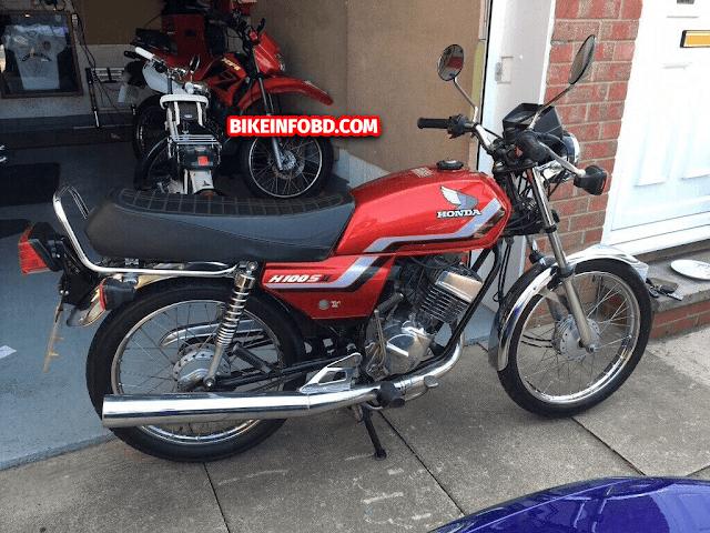 Honda H100S (CDI) Picture