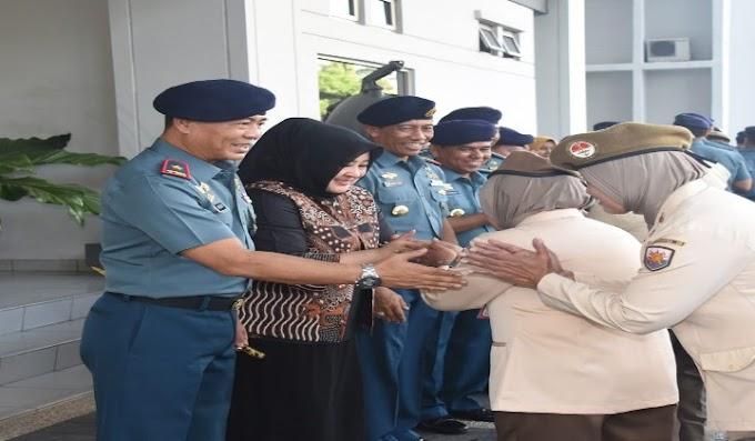 Danlantamal III Jakarta, Halal Bihalal Bersama Prajurit dan PNS