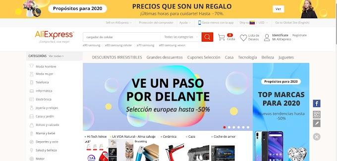 ✅ Pasos para comprar en Aliexpress desde Estados Unidos en 2021 💯