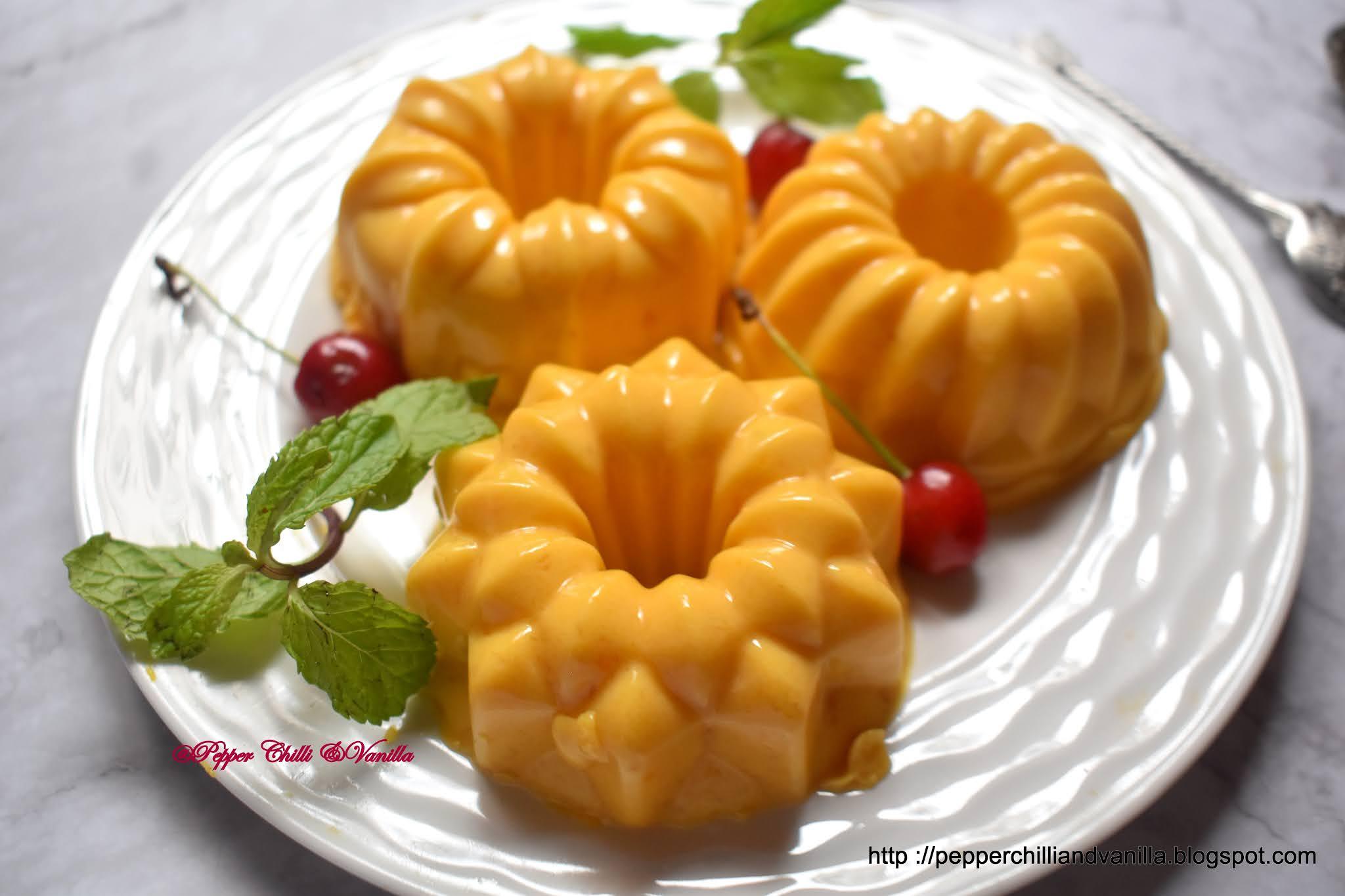 mango agar agar,mango china grass pudding