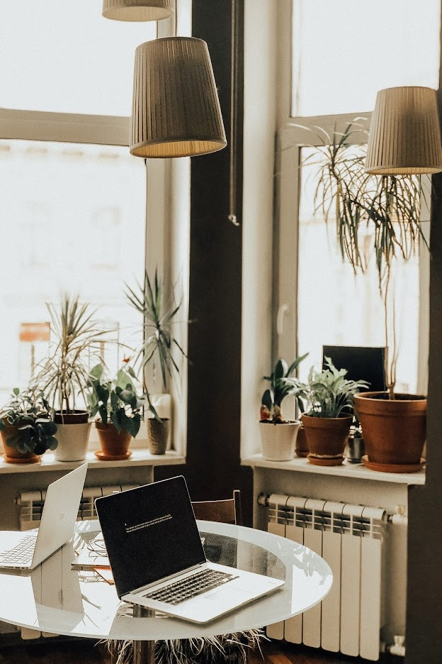 Download Beautiful wallpaper of a working space
