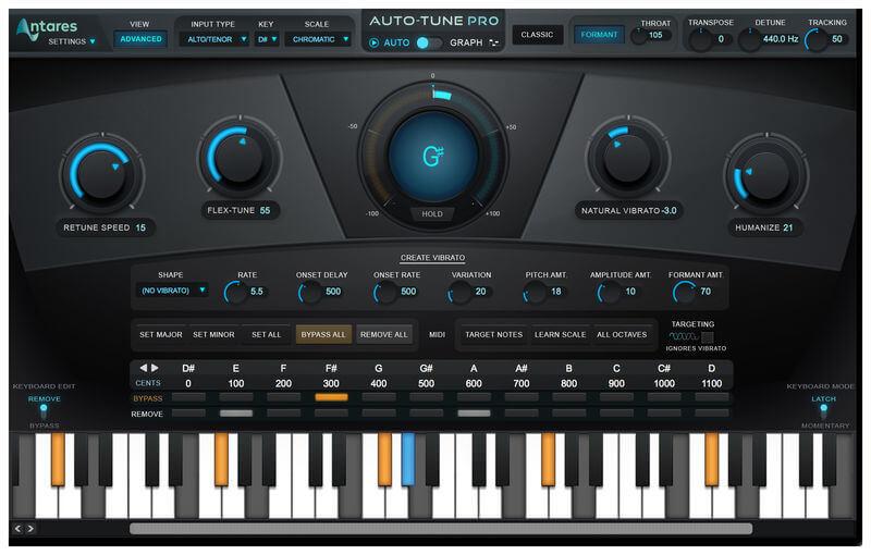 Auto Tune Pro 9 đẳng cấp hát live thu âm mix nhạc