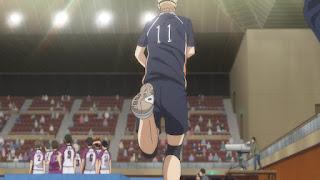 ハイキュー!! アニメ 3期8話   月島蛍 ツッキー かっこいい   Karasuno vs Shiratorizawa   HAIKYU!! Season3