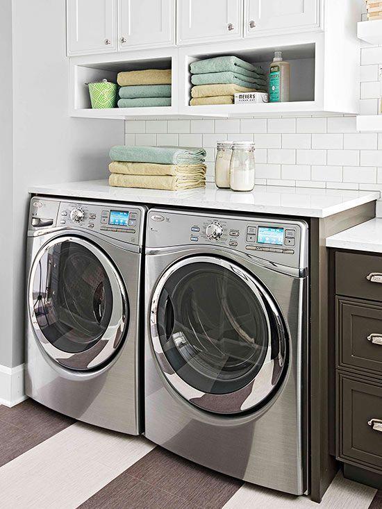 21 rosemary lane small laundry room ideas - Small laundry room ideas ...