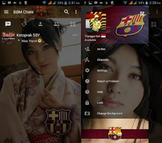 BBM Barcelona with Change Background