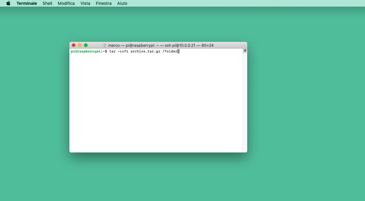 Come zippare e unzippare file e cartelle su Linux