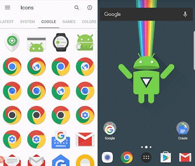 9 Icon Pack Terbaik Untuk Android Tampil Keren Gratis Di 2017