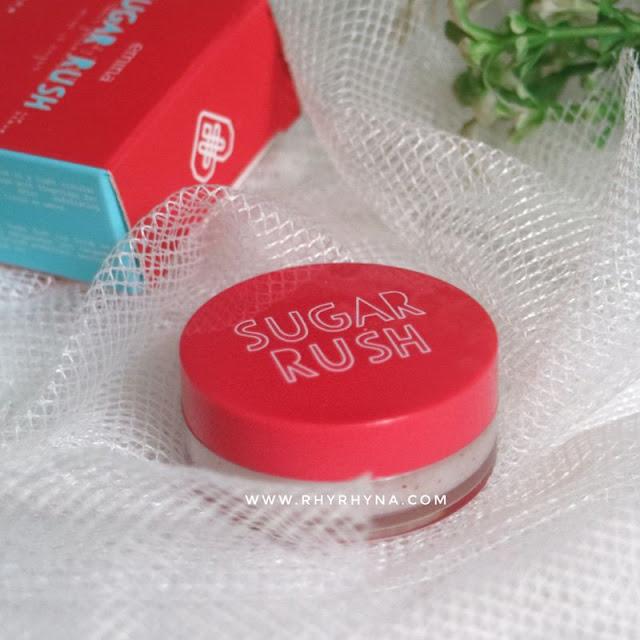 Emina Sugar Rush Lip Scrub hadir dengan kemasan yang lucu