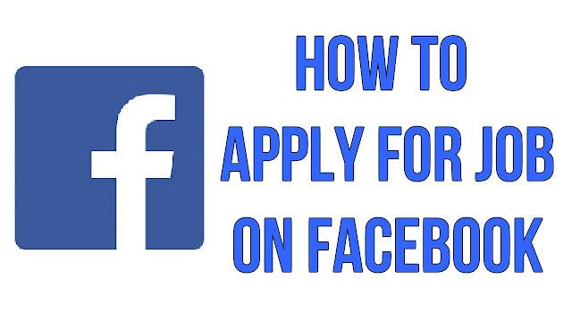 Cari Kerja Guna Facebook? Ini Caranya!