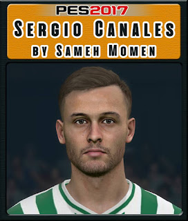 PES 2017 Faces Sergio Canales by Sameh Momen