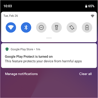 - Screen 2BShot 2B2019 02 26 2Bat 2B10 - New updates to keep Android users secure