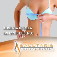 Paquete Implantes de senos en Salutaris Guadalajara