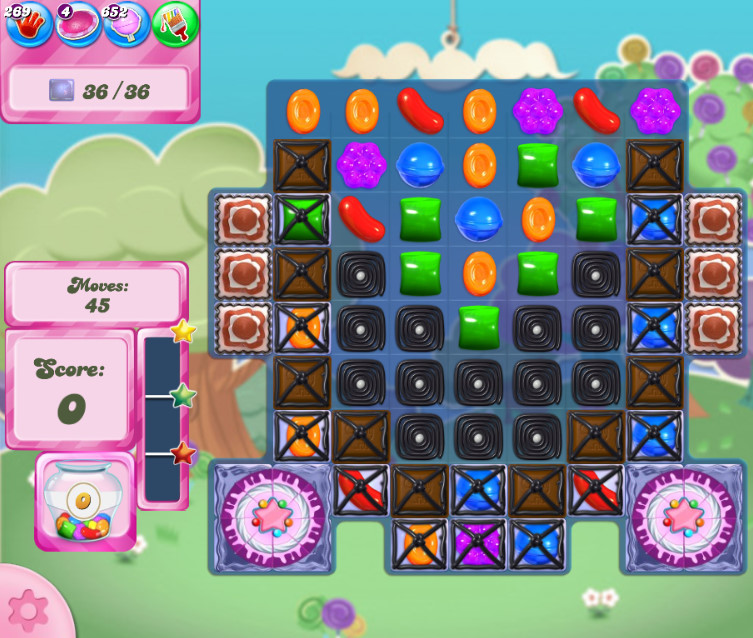 Candy Crush Saga level 2674
