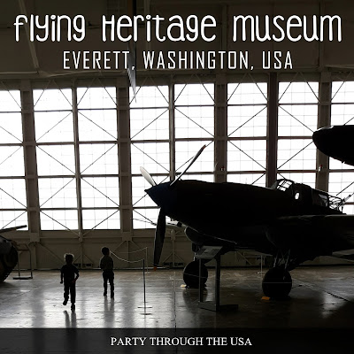 See WW2 airplanes, tanks, and more at the Seattle area Flying Heritage Museum.  Roadschooling and traveling with kids!