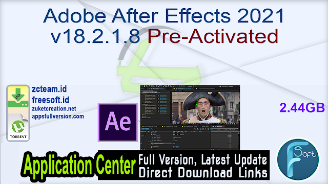 Adobe After Effects 2021 v18.2.1.8 Pre-Activated_ ZcTeam.id