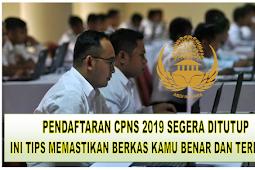 Pendaftaran CPNS 2019 Segera Ditutup, Ini TIPS Memastikan Berkas Kamu Benar dan Terdata