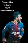 All Time Best Quotes From Lionel Messi Which Help You To Achieve Your Goals.