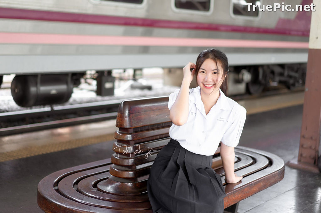 Image Thailand Model - Kornrawee Chokejindachai - Cute Student Girl - TruePic.net - Picture-1