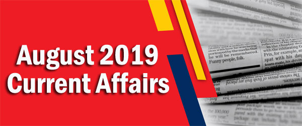 Kerala PSC Daily Malayalam Current Affairs Aug 2019