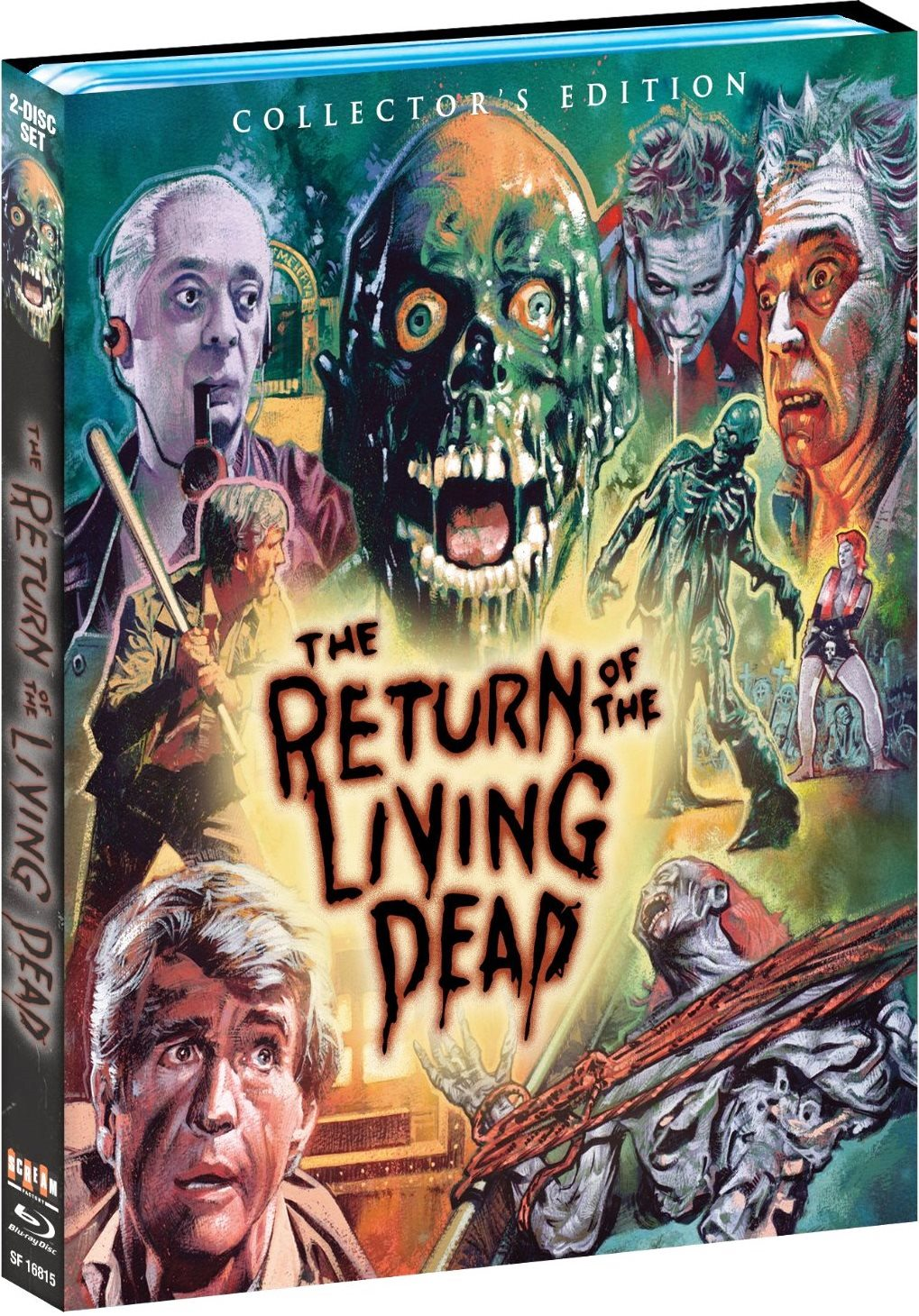 The return of the living dead 1985 collector s edition blu ray review