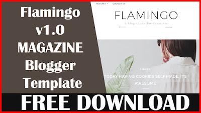 Flamingo v1.0 - Responsive Fashion Blogger Template - Download