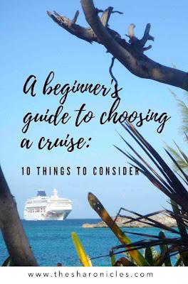 Pinterest pin: A beginners guide to cruising