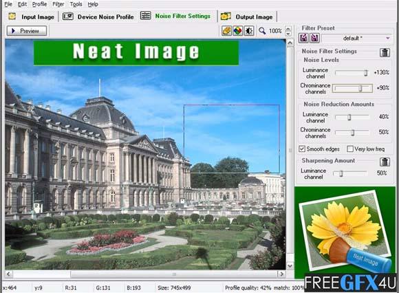 Neat Image Pro v8