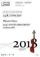 Klasična glazba Završni koncert masterclassa prof. Davida Grigorijana na violončelu u organizaciji međunarodne ljetne škole UZMAH - Milna slike otok Brač Online