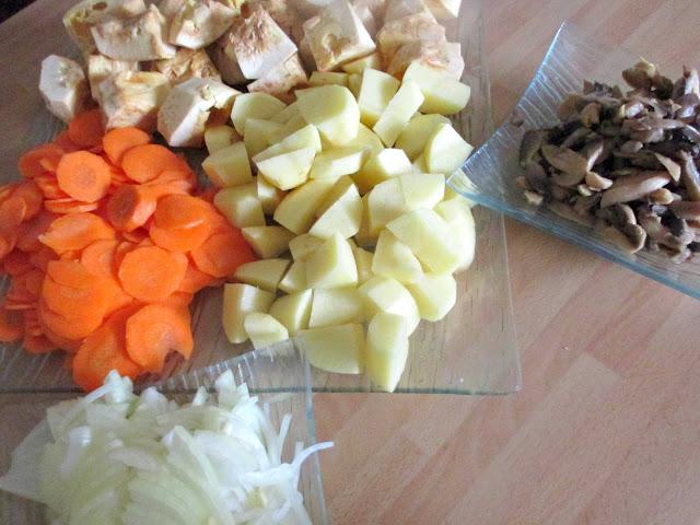 Bœuf bourguignon, végétarien, fruit du jacquier, jack fruit