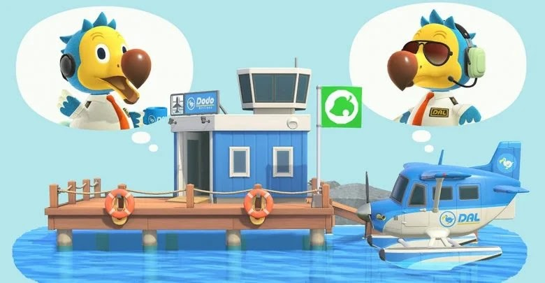 How to travel to other islands at the Animal Crossing: New Horizons airfield
