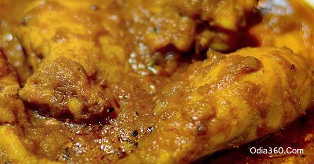 Desi Chicken Kasha Recipe (କୁକୁଡ଼ା ମାଂସ କଷା)