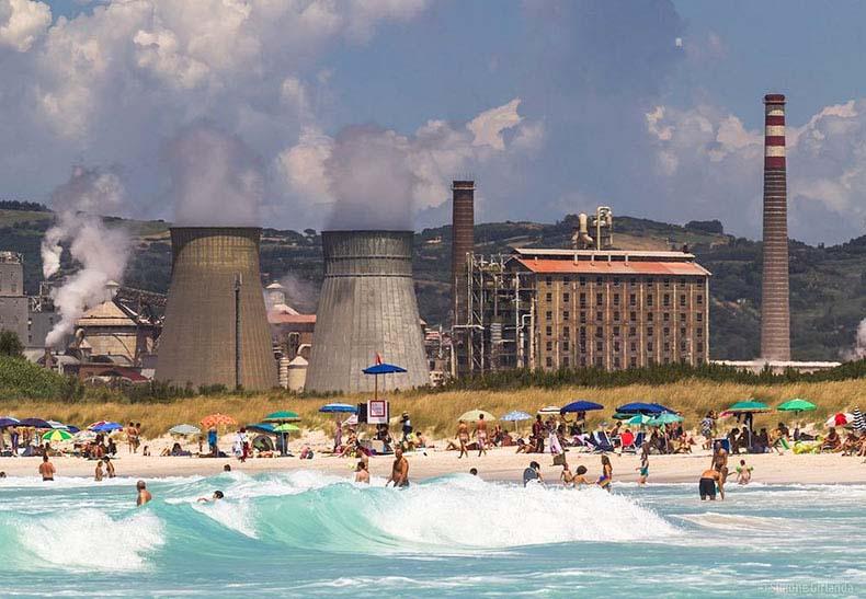 Las blancas y tóxicas playas de Rosignano Solvay | Italia