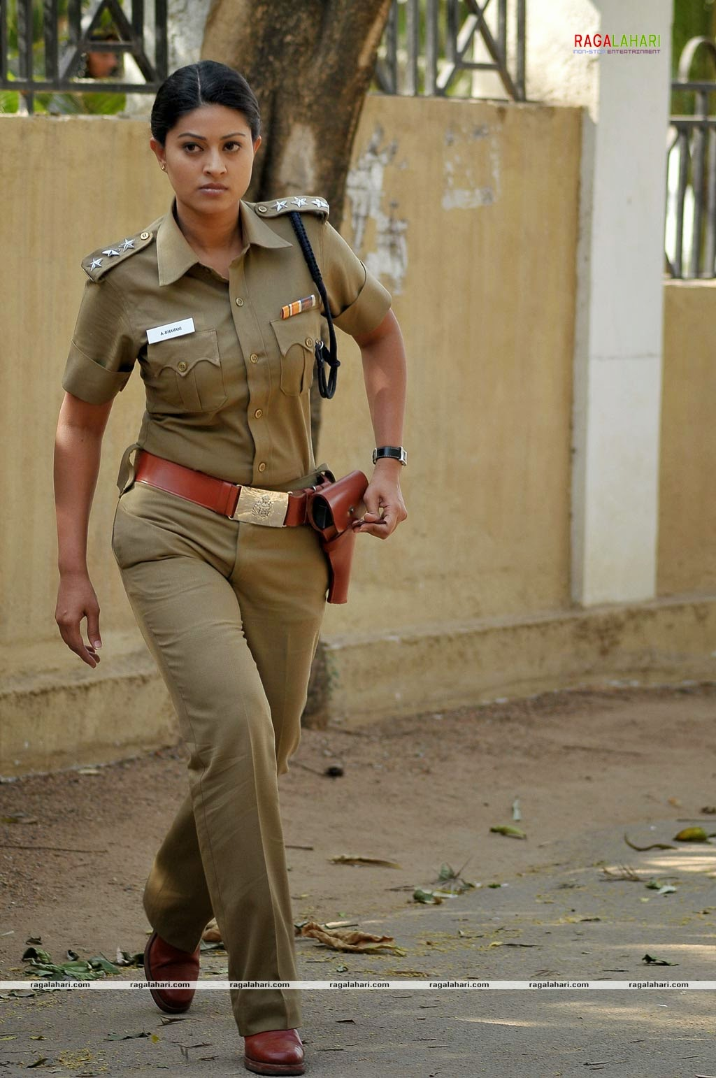 Indian Actress In Police Uniform | Hot Girl HD Wallpaper
