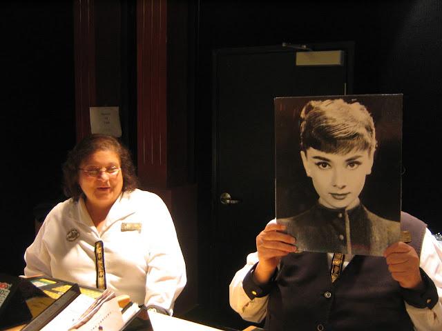 Caesars Palace Keno Lounge Goofing Around Audrey Hepburn