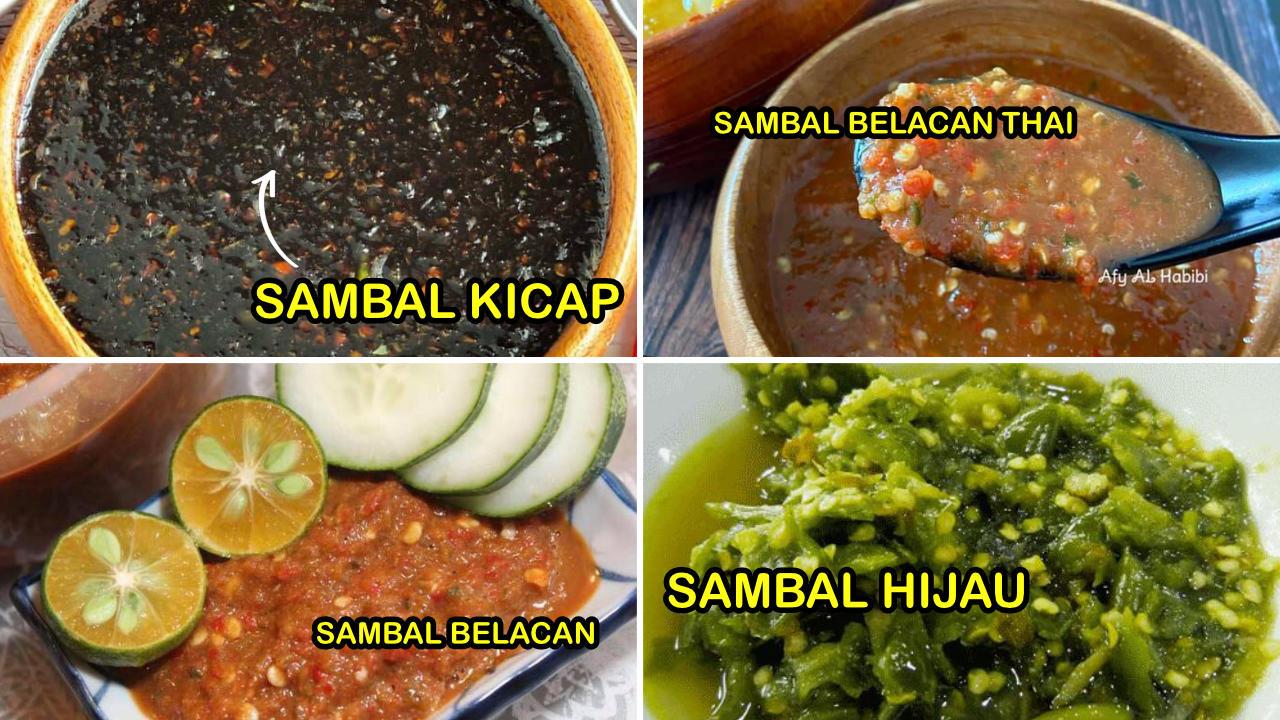 resepi sambal homemade