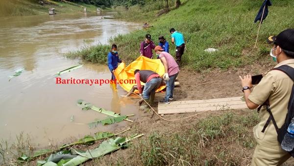 Geger Mayat Tanpa Identitas Mengapung di Sungai Teweh