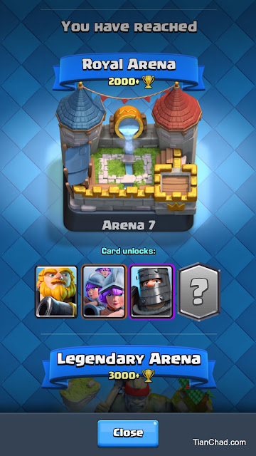 Easily reach Clash Royale Arena 7 with this battle deck