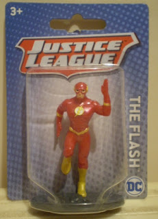 Miniature Flash figurine from Mattel in 2018