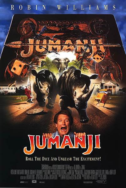 Poster of Jumanji 1995 Dual Audio [Hindi-English] 720p BluRay ESubs Download