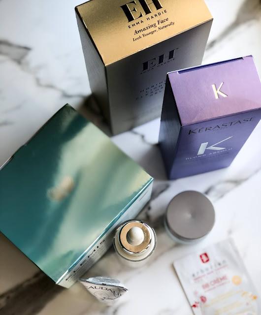 Покупки Notino в апреле:Elemis, Emma Hardie, Caudalie и Kеrastase.