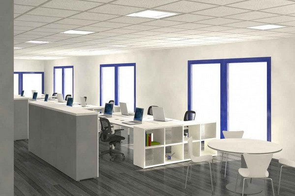 Loft Office Space Design Ideas - Best Office Furniture Design Ideas