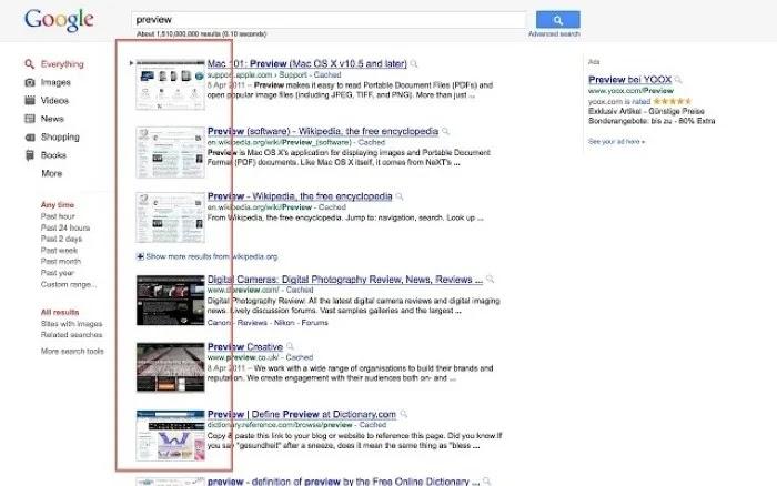 تصفح Chrome-Faster-GooglePreview