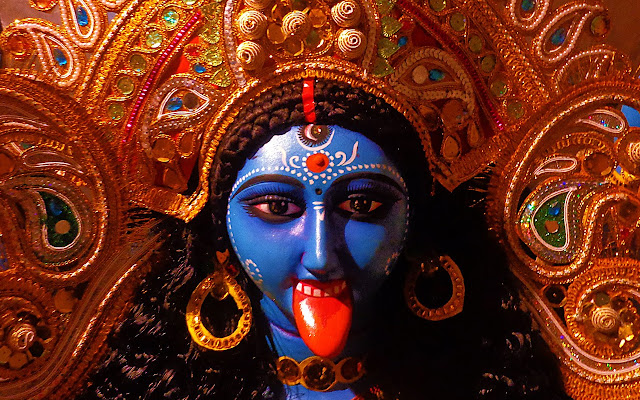 Best Maa Kali Face HD Wallpaper For Your Mobile