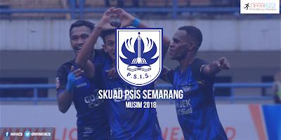 Skuad Pemain PSIS Semarang Musim 2018