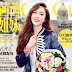 Jessica Jung is the lovely cover girl of CeCi China's April issue